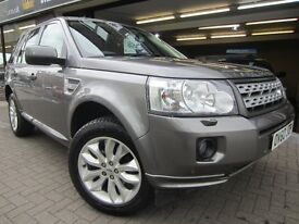 LAND ROVER FREELANDER 2 2.2 SD4 HSE 4x4 5dr Auto (grey) 2010