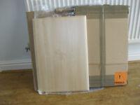 2 BRIGHTON ONTARIO MAPLE DOORS for kitchen cubards