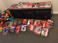 Sunderland home programmes job lot 350+