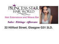 Weave Hair Extension Fitting £10 per track