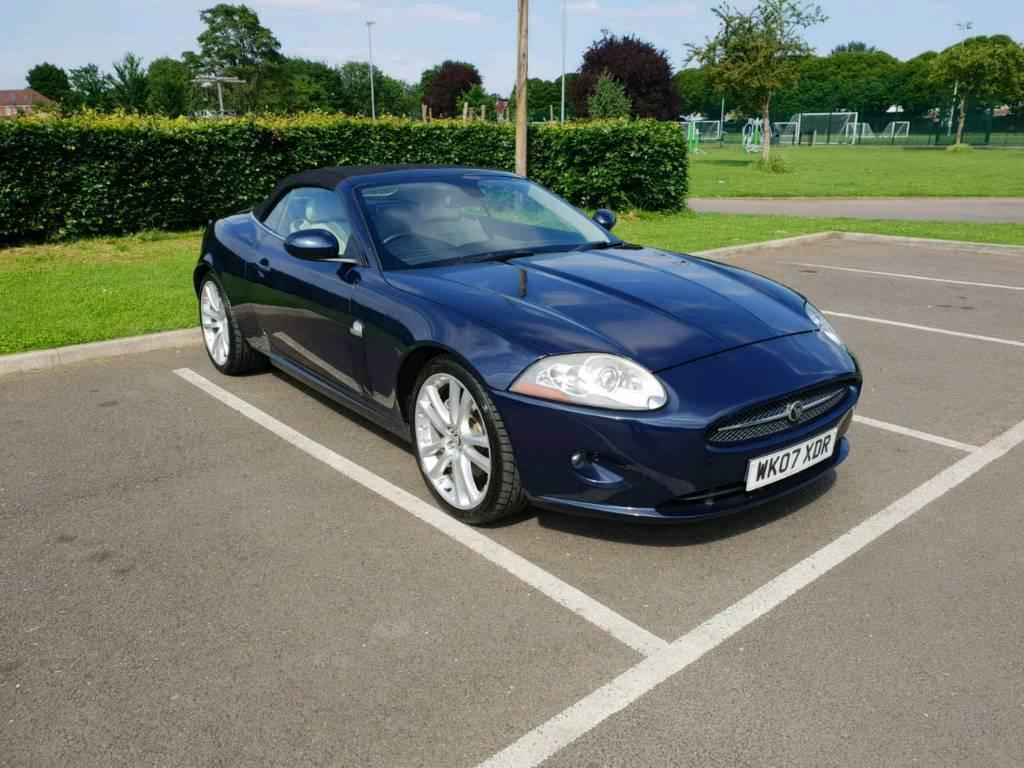 Jaguar XK 4.2 ltr 2007 CONVERTIBLE Auto Blue Classic Car | in Southall, London | Gumtree