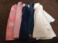 X5 9-12 months dresses