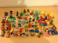 HUGE COLLECTION OF KINDER EGGS TOYS (price reduced)