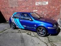mk5 Fiesta Zetec S show winning retro classic ST RS VXR VTS VRS GTI Sierra escort cosworth saxo puma