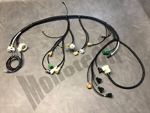 95 honda civic radio wiring harness 88 91 honda civic engine wiring harness civic engine harness | ebay