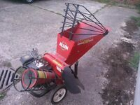Professional 'Allen' petrol operated leaf and branch shredder - great condition