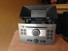 Vauxhall Astra CD radio and screen