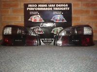 Citroen Saxo Smoked Tail Lights Tailights (Pair)