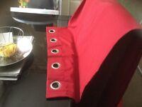 2x blackout curtains