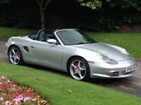 2003 Porsche Boxster 986 3.2S 2dr Convertible Manual F/S/H - HPI - 2 keys- 3.2 s