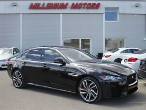 2016 Jaguar XF S AWD / NAVI / B.CAM / B.S.M / SUNROOF / LEATHER