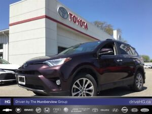 2016 Toyota RAV4 Limited | NO ACCIDENTS | ONE OWNER | LOADED LUX