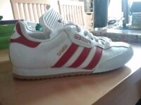 Adidas sambas red and white size 6 £25 collection only