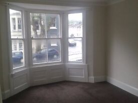 Lovely, large 1 bed Gd fl flat in quiet street near Preston Circus. No agency fees.
