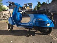 Scooter 125cc Neco Abruzzi Vespa Lookalike Moped