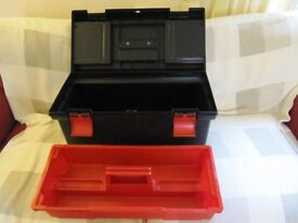 Large Curver toolbox. Good condition.