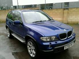 2006/06 BMW X5 3.0D Ltd. edition with full service history