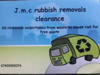 Rubish removals and garden maintenance