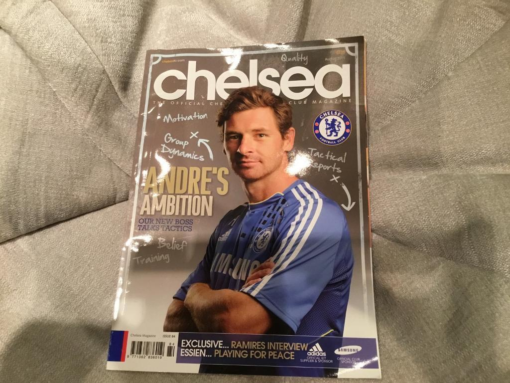 Chelsea official club magazine August 2011 issue 84