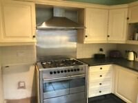 De Dietrich Range Cooker & Extract Hob in Stainless Steel