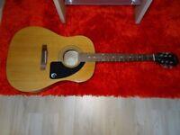 Epiphone AJ Acoustic Guitar mint condition
