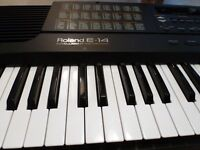 As new ROLAND E-As new ROLAND E-14 keyboard ..E, FOR INTELLIGENT
