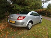 2005 RENAULT MEGANE 1.6 KARMANN CONVERTIBLE MOT UNTIL NOVEMBER 2017