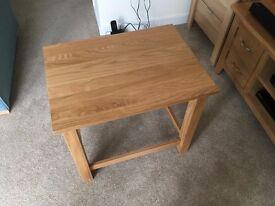 Small light Oak table - brand new
