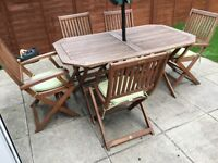 Robert Dyas Garden Table and Chairs