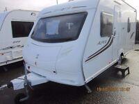 2011 SPRITE ALPINE 4 BERTH FIXED BED CARAVAN WITH MOTOR MOVER ANDERSON CARAVAN SALES