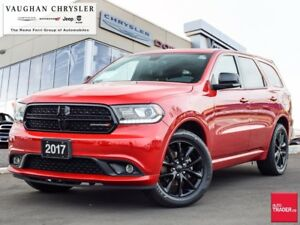 2017 Dodge Durango GT AWD * BLACKTOP EDITION * ONLY 33073 KMS !