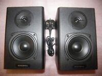 Kurzweil KS40A Active Powered Studio Monitor Speakers / PAIR