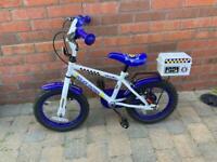 "Kids Police Bike - 14"" wheel"