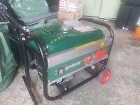 Parkside 2.8 KVA / 2.8KW 6.5HP DC Petrol Generator - 110V / 240V / 12V / 50HZ £130 no offers .NEW !