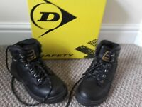 Dunlop Steel Toe Safety boots BNIB size 3