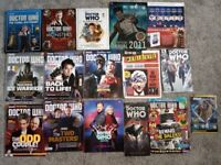 Dr. Who books, magazines and other items