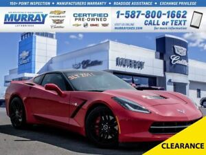 2014 Chevrolet Corvette Stingray 3LT Z51 **Loaded! Rare Find!**