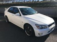 Lexus is200 pearl white (swap,px,civic,altezza,Audi,BMW,Sierra,golf,Leon,Passat,Jetta,accord)