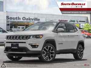 2018 Jeep Compass Limited | 0% UP TO 60 MONTHS OAC