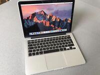 Apple MacBook Pro 13 inch Retina Display, A1502, 8GB Ram, 256GB SSD, in good condition