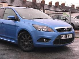 2009 ( 09 ) FORD FOCUS ZETEC S 115 1.8 TDCi DIESEL 5 DOOR BLUE * 100 % HPi CLEAR* FINNANCE AVAILABLE