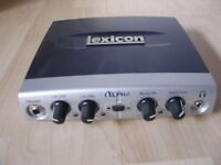 Lexicon Alpha 2 In / 2 Out USB Audio Interface