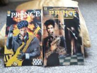 Two collectable Prince magazines 1991 and 1994