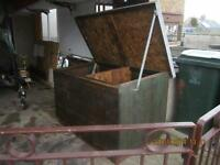 New Coal/Wood bunker