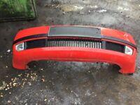 Skoda fabia front bumper red, used for sale  Knowle, Bristol
