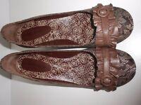 Salvador Sapena Brown heels, size 39