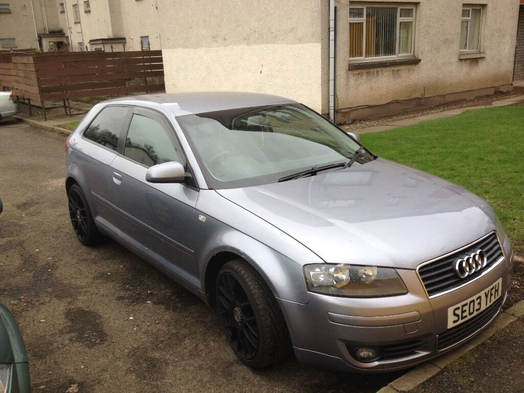 2003 audi a3 2 0 tdi sport 2000 swap in dundee gumtree. Black Bedroom Furniture Sets. Home Design Ideas