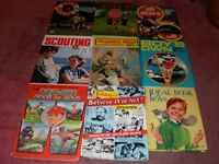 Vintage collectable childrens annuals