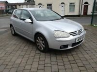 2005 (05reg), Volkswagen Golf 2.0 TDI GT 5dr Hatchback, £1,895 p/x welcome