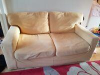 Free 2 x w seater next sofas